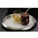 """American Metalcraft Bar Tray 14"""" Brushed S/S"""