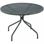 """Contract Furniture Cambi 32"""" Round Table Antique Black"""