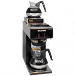 Bunn® Low Profile Pourover Coffee Brewer with 2 Warmers