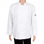 Chef Revival® Knife & Steel® Traditional Chef's Jacket - White - Medium