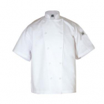 Chef Revival® Knife & Steel® Chef's Jacket - White - Extra-Large