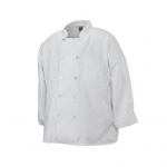 Chef Revival® Basic Chef's Jacket Double Breasted - White - Medium