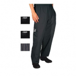 Chef Revival® Cargo Chef's Pants - Black - Small