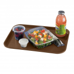 """Cambro Fast Food Tray 14"""" × 18"""" Brown"""