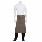 Chef Works Bistro Apron Earth Brown