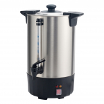 Winco 50cup Electric Stainless Steel Coffee Urn