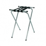 Browne Tray Stand Deluxe Chrome w/Straps and Double Bar