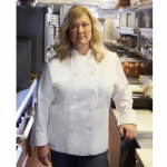 Chef Works® Woman's Le Mans Chef Coat White